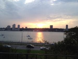 Riverside Park, Hudson River, NY, NY