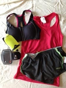 Women's running gear
