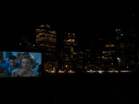 SyFy movies under the stars