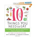 The 10 Things You Need to Eat cookbook