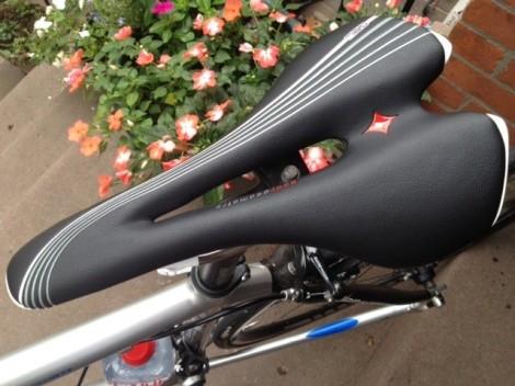Specialized women-specific bike seat