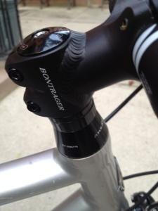 Bontrager bike stem